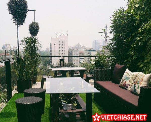 Terrace Café – Các Quán Cafe Check In Đẹp Ở Hà Nội