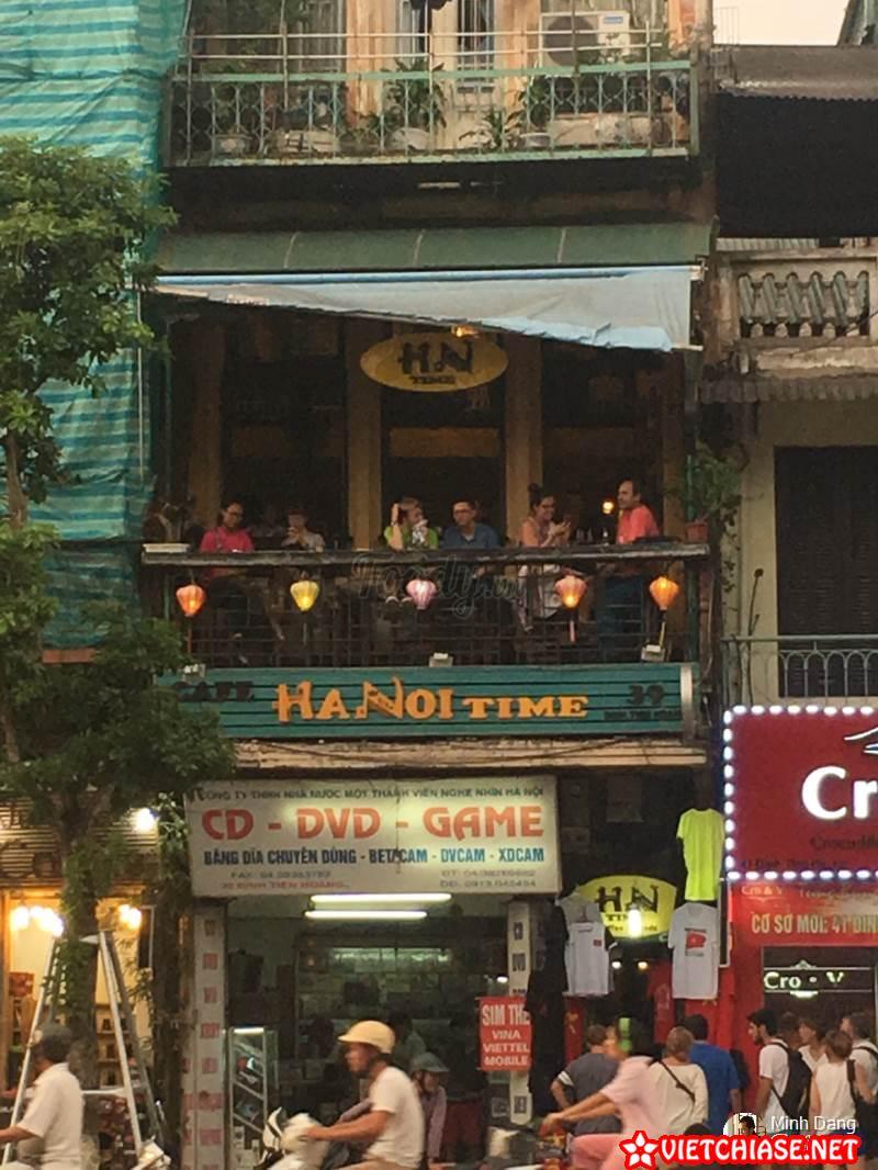 Hanoi Time – Danh Sách Quán Cafe Check In Đẹp Tại Hà Nội